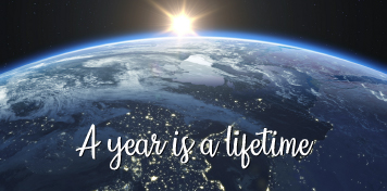 A year is a lifetime | Season's Greetings